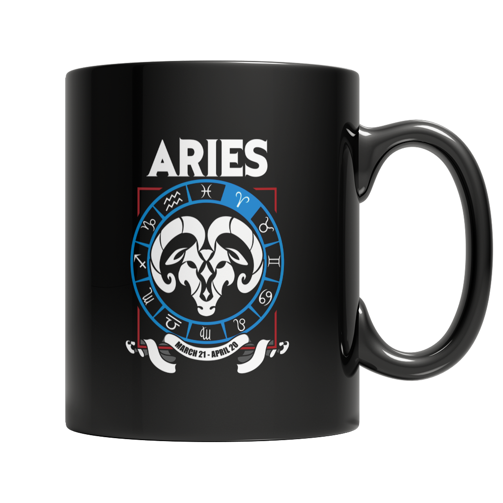 Aries Mug - Zodiac Collection