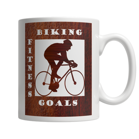 Biking Fitness Goals Mug