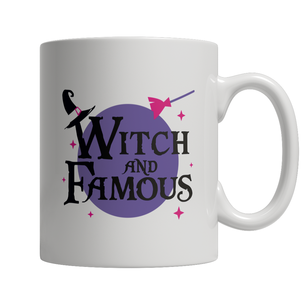 Witch and Famous Mug