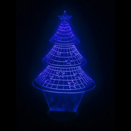 3D Night Light - XMAS Tree
