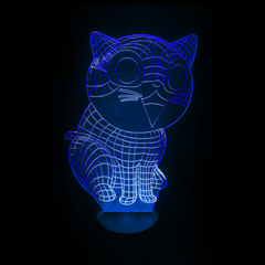 3D Night Light - CAT