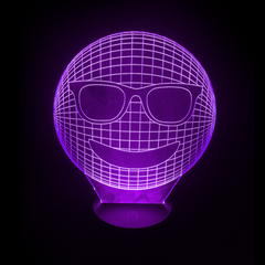 3D Night Light - Smile