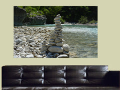 Stones River Spa Canvas Wall Art - Large One Panel