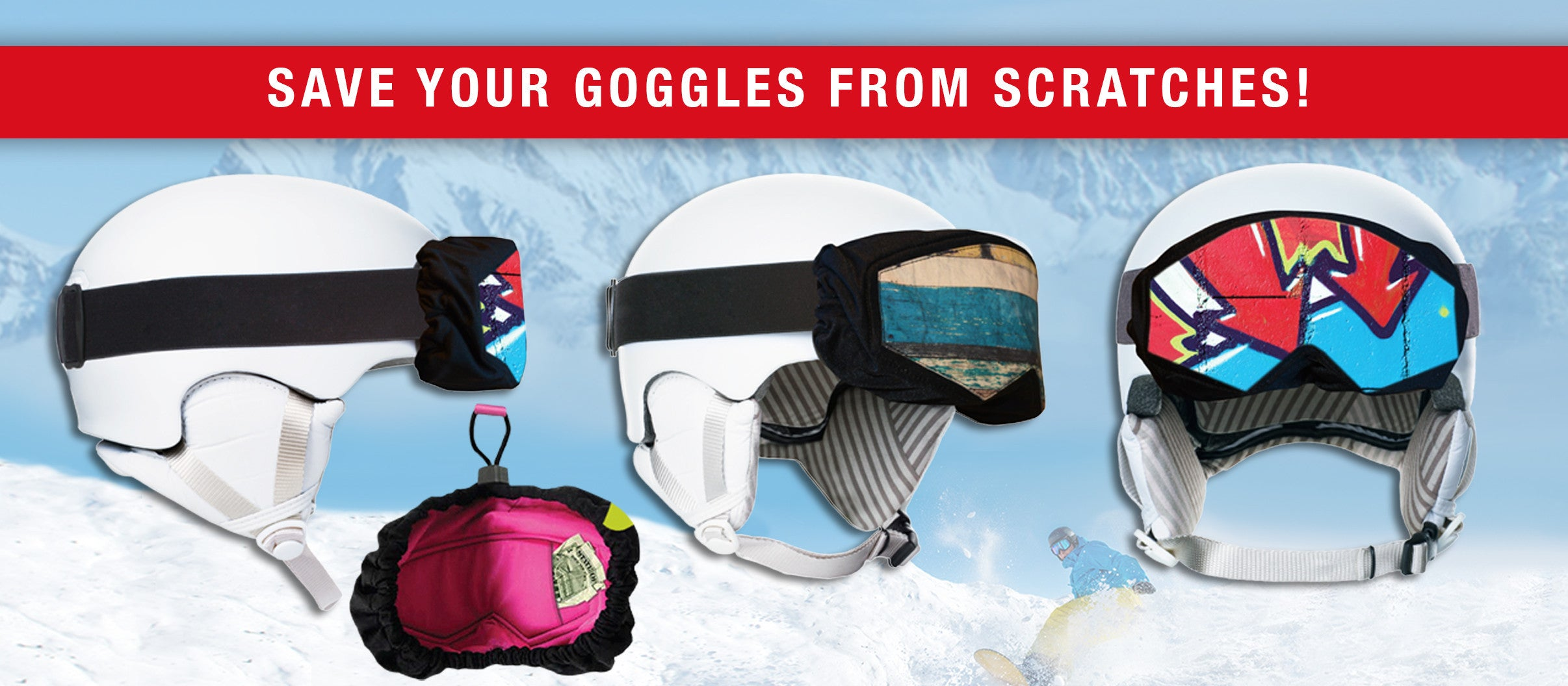 Goggle Bags and Google Cases