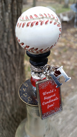 Cardinals Wine/Bottle Stopper 1