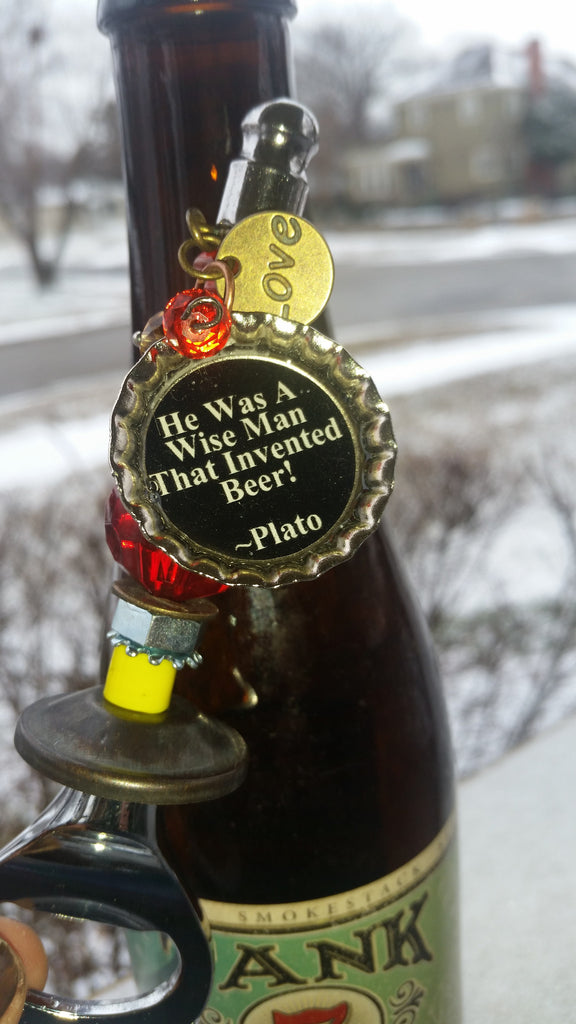 Chiefs Beer Bottle Opener He Was A Wise Man That Invented Beer