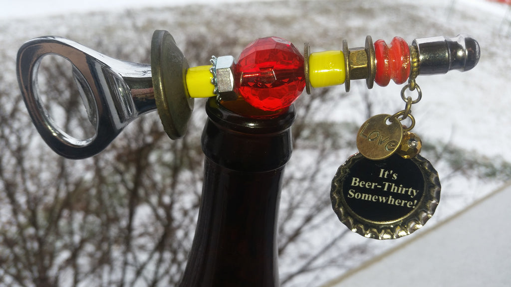 Chiefs Beer Bottle Opener~ It's Beer-Thirty Somewhere!