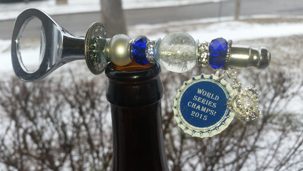 Royals Beer Bottle Opener~ World Series Champs!  2015