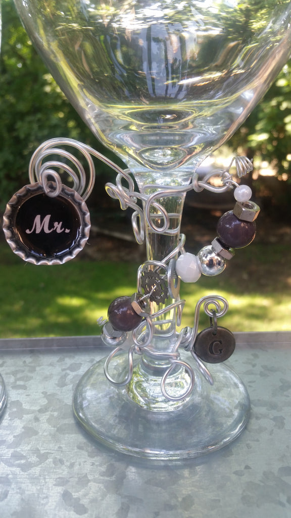 """Mr"" Wine Glass"