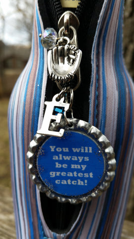 """You Will Always Be My Greatest Catch"" Charm"