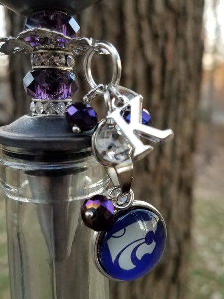 K-State Wildcat Wine Stopper