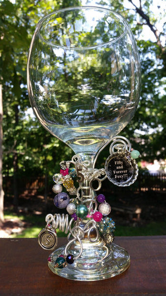 Birthday Bash Wine Glass