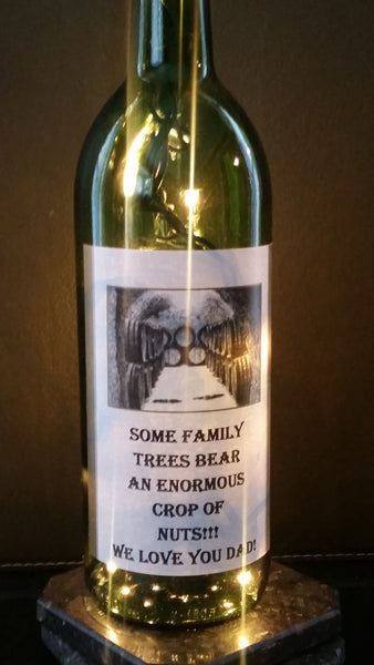 Family Trees Wine Lamp
