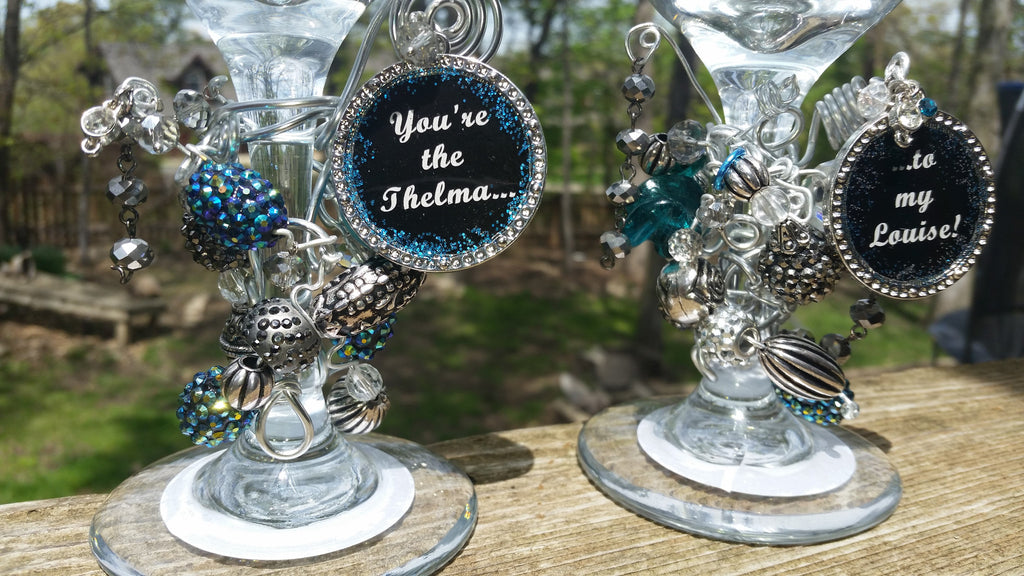 Thelma and Louise Martini Glasses