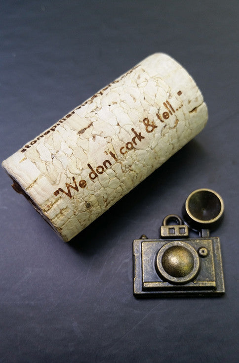 Camera in Bronze - Charm