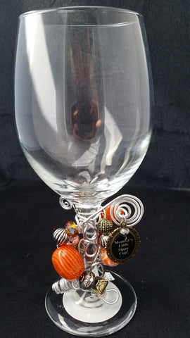 Mommy's Little Sippy Cup Wine Glass