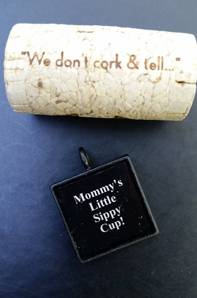 Mommy's Little Sippy Cup Charm