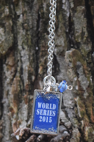 World Series 2015 - Rectangle Charm Necklace