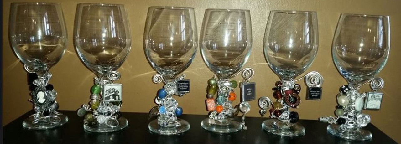 Image of Divine Wine Designs Customized Wine Glasses