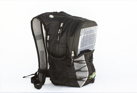 GoPAX Pro Solar Backpack Black