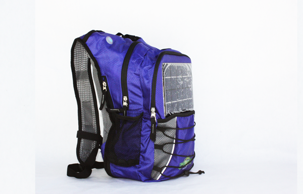 GoPAX Pro Solar Backpack Royal Blue