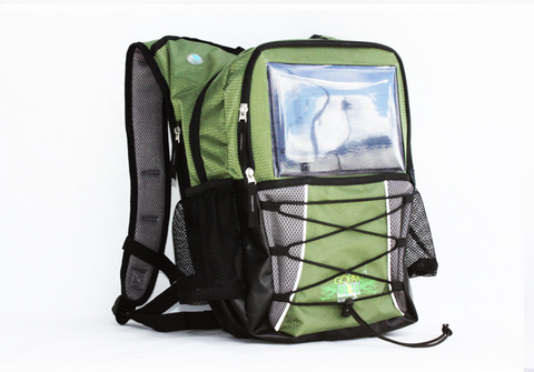 GoPAX Pro Solar Backpack Olive Green