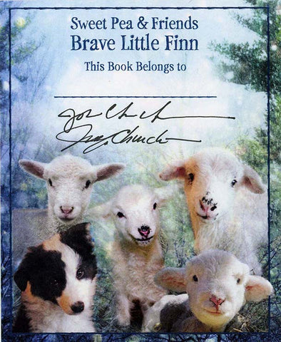 Brave Little Finn Bookplate #1 Signed & Personalized