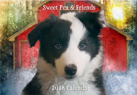 On Sale! 2018 Sweet Pea & Friends Calendar