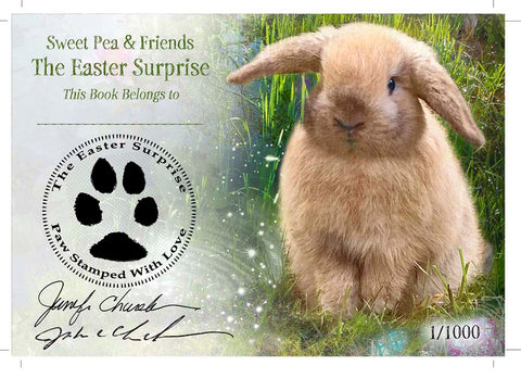 The Easter Surprise Bookplate  Signed & Personalized