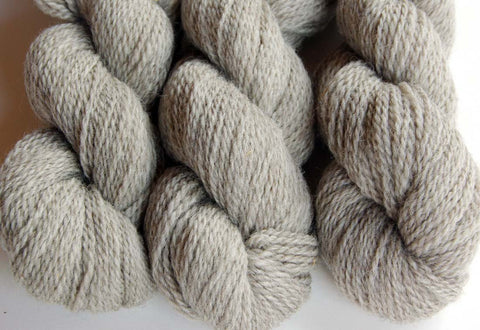 Yarn: Natural Soft Gray Heather