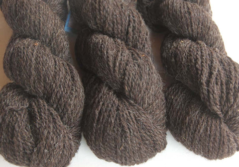Yarn: Natural Brown Heather