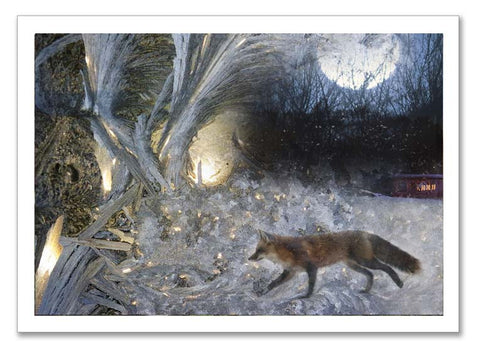 "Storybook Art Card ~""Wild Red Fox"""