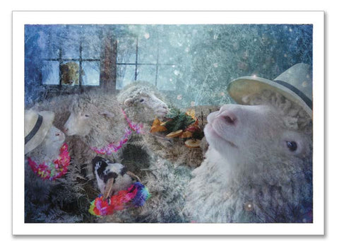 "Storybook Art Card ~""Farmer John's Hat"""
