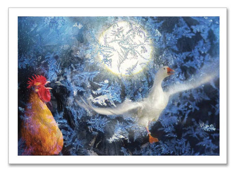 "Storybook Art Card~ ""Keeper the Goose"""