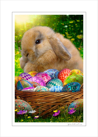 Handmade Art Card- The Easter Surprise