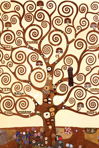 AP115 Klimt - The Tree of Life, 24 x 36