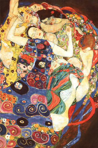 AP135 Klimt - The Virgin, 24 x 36