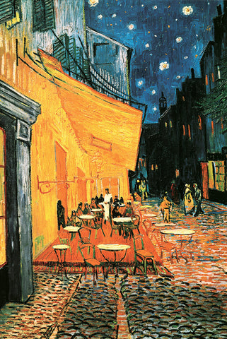 AP598 Van Gogh - Cafe at Night, 24 x 36