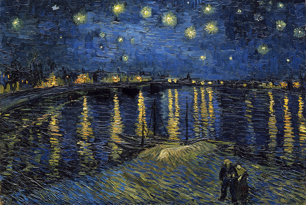 AP606 Van Gogh - Starlight Over Rhone, 24 x 36