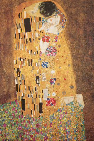 AP607 Klimt - The Kiss, 24 x 36