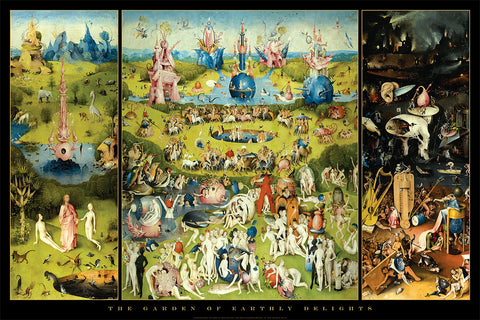 AP640 Bosch - Garden of Earthly Delights, 24 x 36