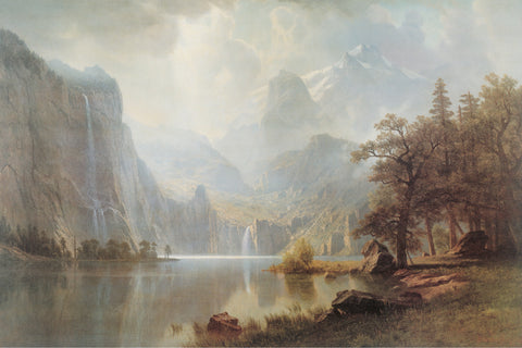 AP650 Bierstadt - In The Mountains, 24 x 36