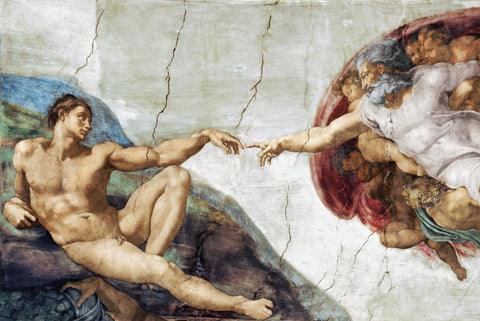 AP779 Michelangelo - The Creation Of Adam, 24 x 36