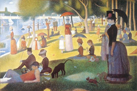 AP888 Seurat - Sunday on La Grande Jatte, 24 x 36