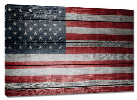 CNV239 American Flag  24in x 36in