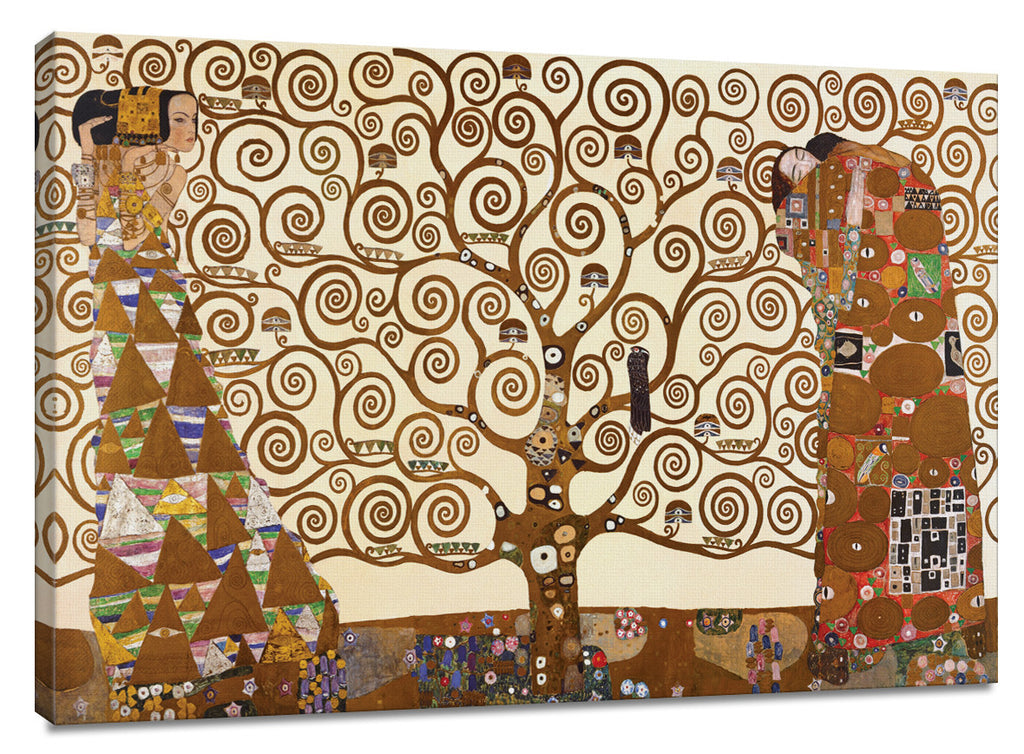 CNV208 - Klimt - The Tree of Life, 24 x 36