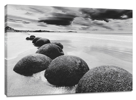 CNV217 - Boulders on the Beach, 24 x 36