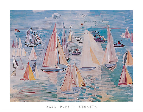 D305 - Duffy, Regatta, 22 x 28