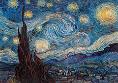 GP300 - Starry Night, Poster 55in x 39in