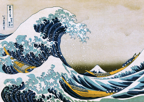 GP301 - The Great Wave, Poster 55in x 39in